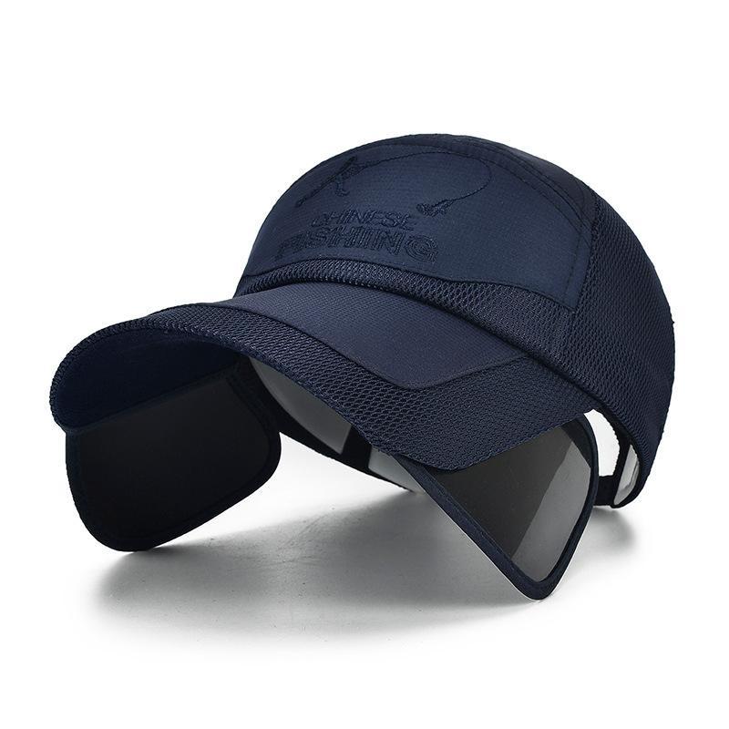 Summer Sun Hat Мужчины Ковш шляпы Женщины Boonie Hat Широкий Брим Защита от ультрафиолетовых лучей Мужской Mesh Дышащие Рыбалка Cap Hat Пляж кости gorrasX1016