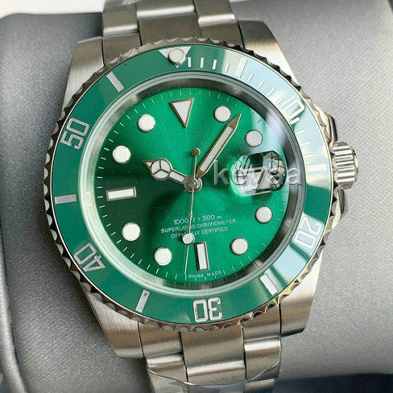 Yeşil Lüks Moda Seramik Siyah Çerçeve Yeni Erkek Mekanik SS 2813 Otomatik Hareketi İzle Spor Erkekler Tasarımcı Saatler Saatı KeyAA
