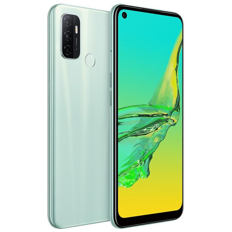Original Oppo A32 4G Mobiltelefon 8 GB RAM 128 GB ROM Snapdragon 460 Android 6,5 Zoll Full Screen 13MP 5000mAh Fingerprint ID Smart Handy
