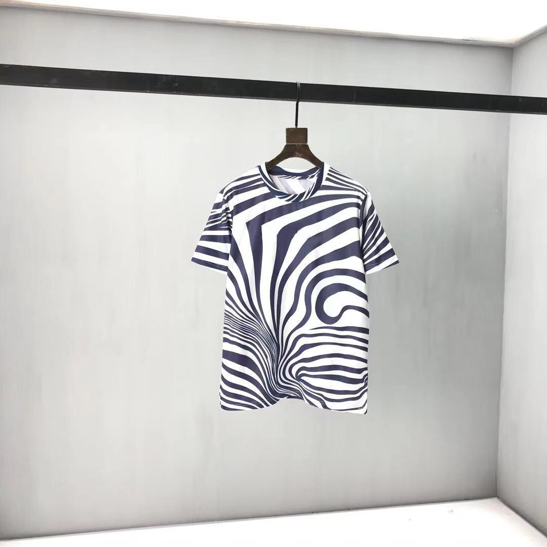 2021 Новые Мужские Женщины Дизайнеры футболка Мода Мужчины S Повседневная T Рубашки Человек Одежда Улица Дизайнер с коротким рукавом Парижская одежда Thirts 812AA