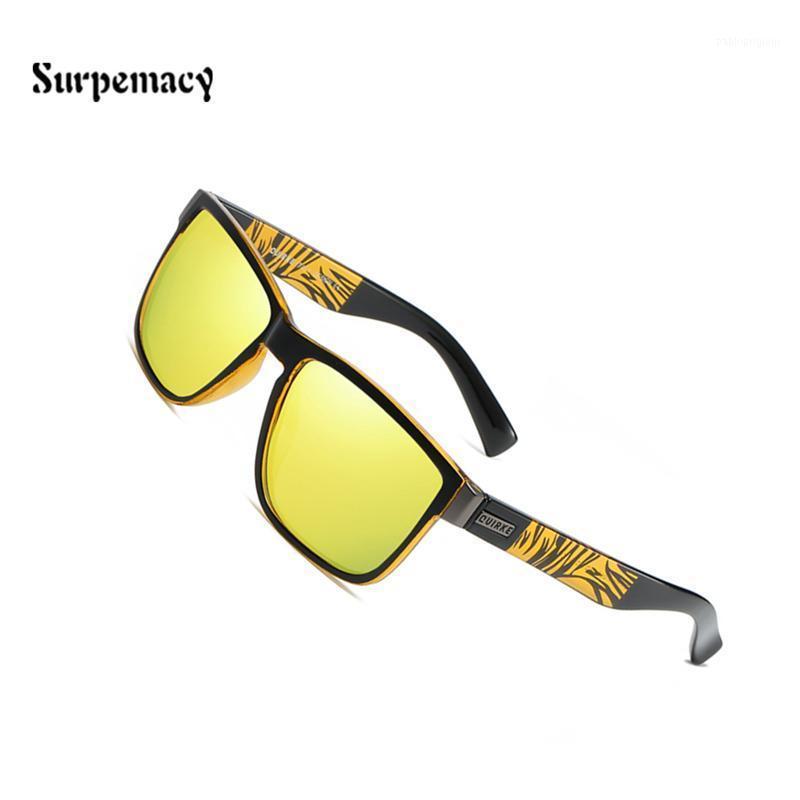 Güneş Gözlüğü 2021 Moda Adamın Güneş Gözlükleri Quirke Polarize Gönderen Erkekler Klasik Tasarım All-Fit Ayna Sunglass Marka Kadınlar Vintage1
