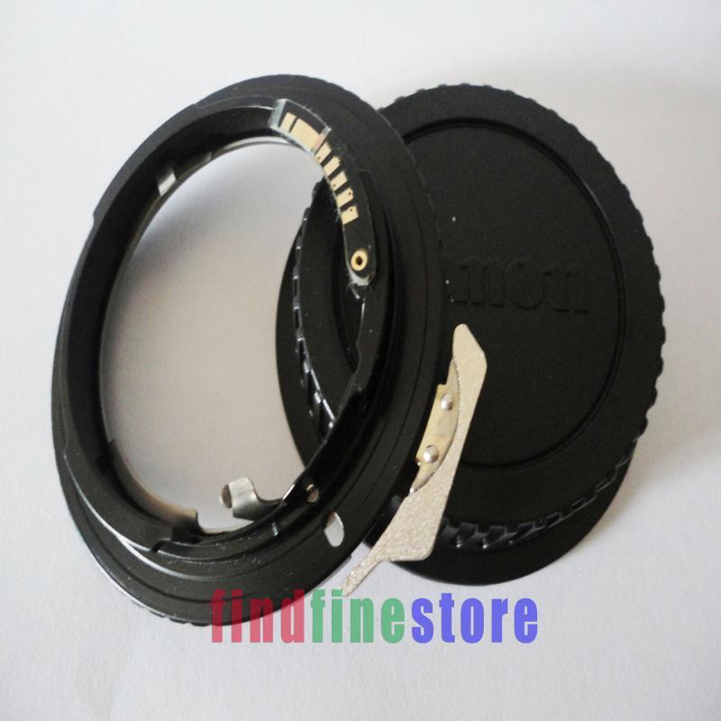 AF Confirm Chip Adapter For G AI AF-S F Lens to EOS EF Camera 7D 60D 300D 400D 500D 550D 600D 350D 450D Rebel + CAP