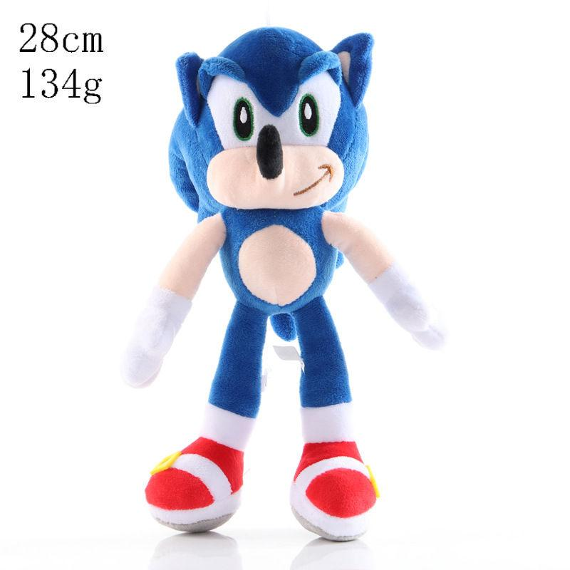The new supersonic mouse sonic super Sonic plush toy Tarsnak hedgehog doll 001