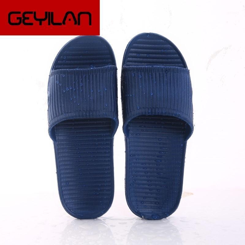 Sandali solidi sandali estate spiaggia flip flops uomini pantofola pavimento antiscivolo casa pavimento pantofola indoor famiglia bagno bagno sandali1