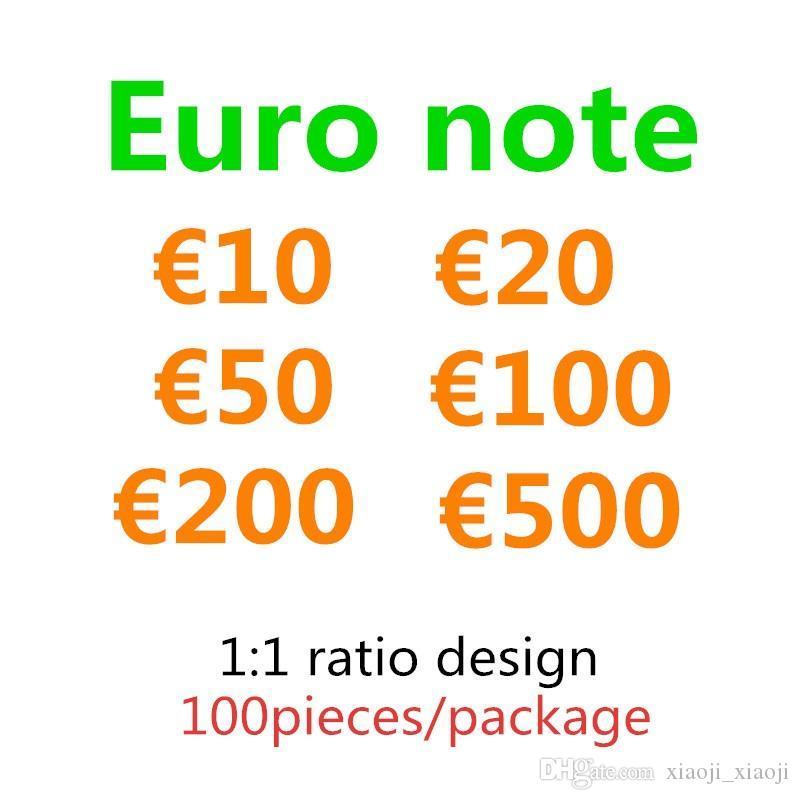 Juegos Copia Fake Money Kids Toy Faux 20 500 PROP 50 Billet 200 10 EURO Fiesta festiva 100 Token Collections Dinero Regalos 02 Jvemb