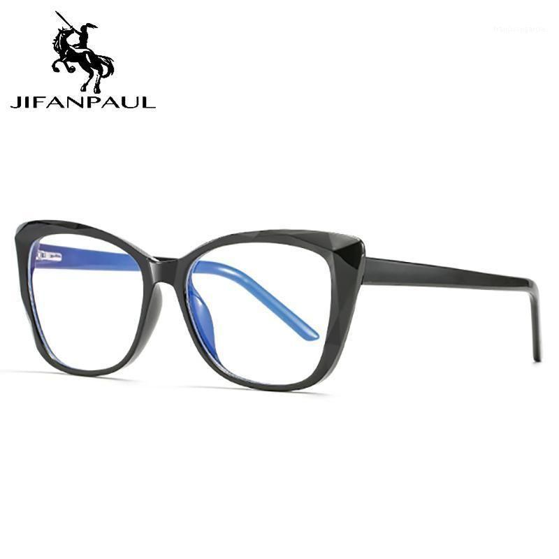 Jifanpaul анти-голубые светлые очки кадр базовые очки Optical Polygon очки солнцезащитные очки мужчины и женщины компьютер1