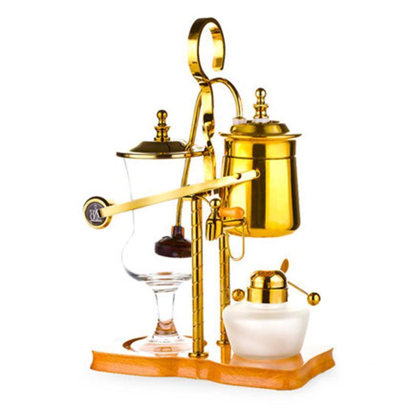 Новая капля воды Royal балансирования сифон кофеварка / бельгия кофе сифона vacumm