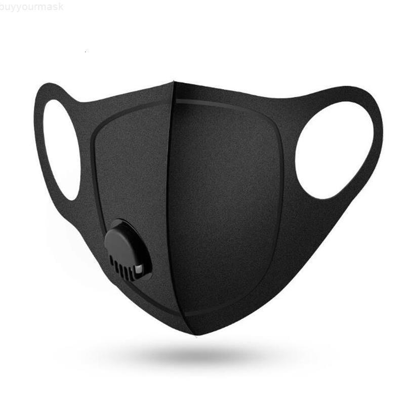 24часа корабль! Многоразовые дыхательный клапан Маска Антиаллергического РМ2,5 Рот маска Маски Anti-Dust Анти загрязнения ткани Губка маска