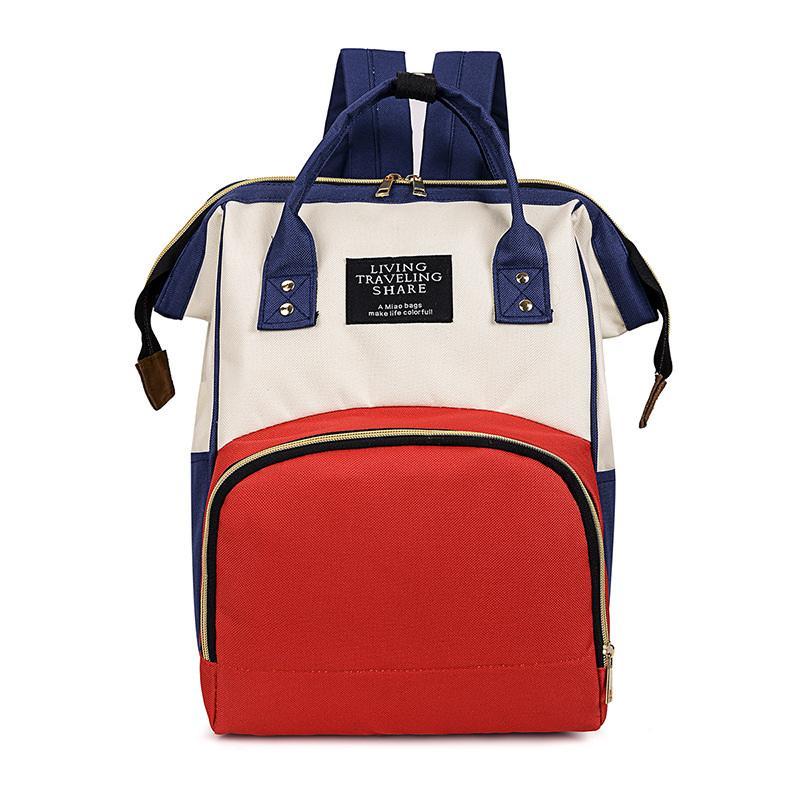 Mommy bag Large capacity multi-function bag Mother-baby bag Mother travel baby bottle diaper backpack custom LOGO3