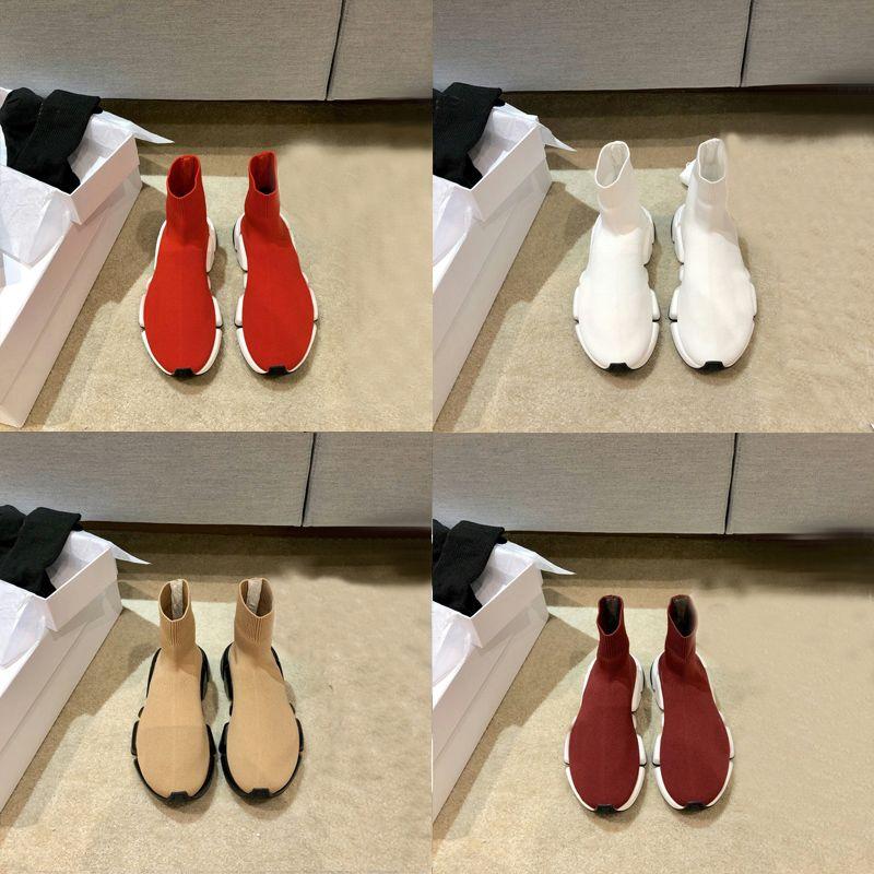 2021 Tasarımcı Erkek Kadın Hız 2.0 Eğitmen Çorap Botları Çorap Çizme Rahat Ayakkabılar Ayakkabı Koşucu Koşucu 78wx #