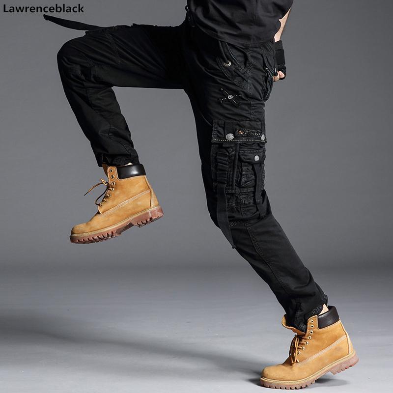 pantalones de hombre del estilo militar del Ejército Verde camuflaje Ejército Tactical Pantalones para hombres Pantalones military Pantalones rectos para los hombres 6662 201111