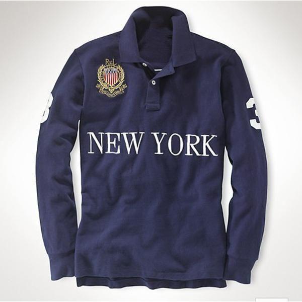 Livraison gratuite broderie d'homme Polo Real Madrid Couronne Broderie Paris Dubaï Londres Rome New York New Y