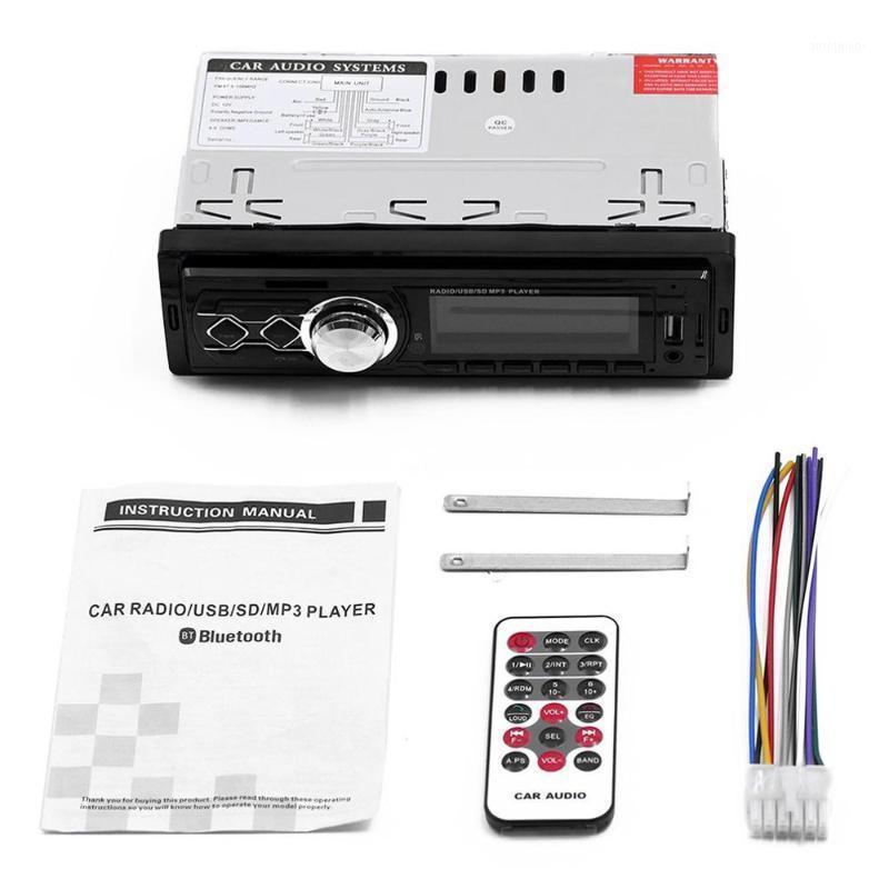 Car Radio Handsfree LCD Subwoofer 1 din Car Audio USB / SD / AUX Mini Card Four Channels Radio1