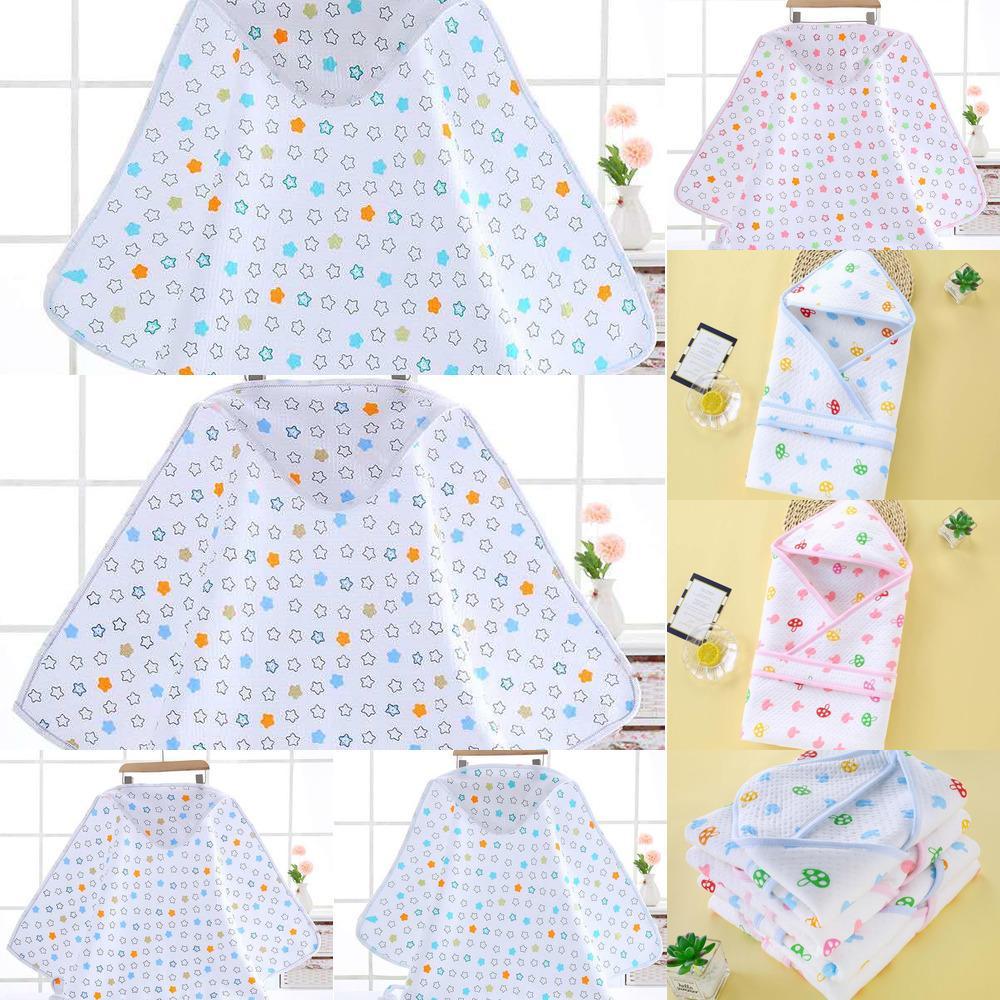 Infant Star Стиль Хлопок Envelop Пеленальный Одеяло для новорожденных младенцев с капюшоном Sleepsack Parisarc Постельные принадлежности Одеяла LRYW