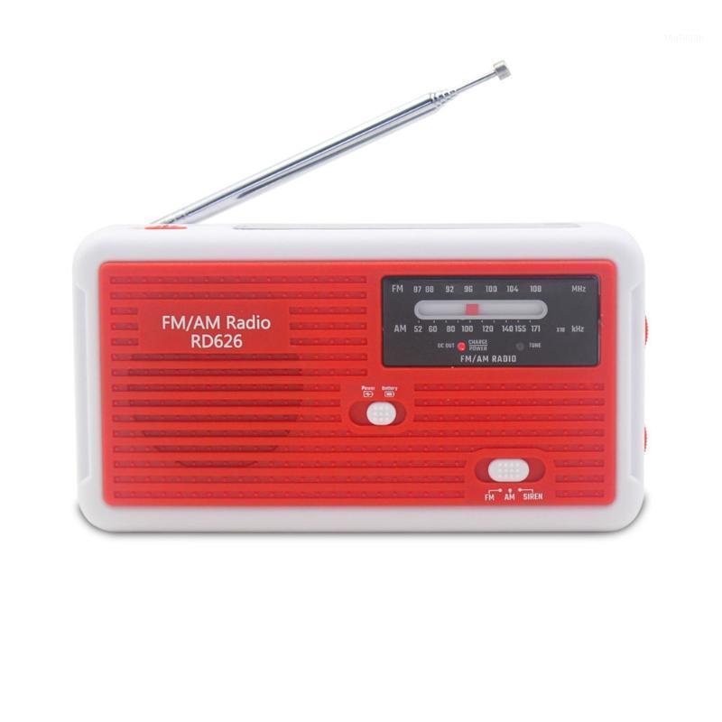 Radio manivelle manivelle dynamo lampe d'urgence éclairage solaire puissant am / fm radio1