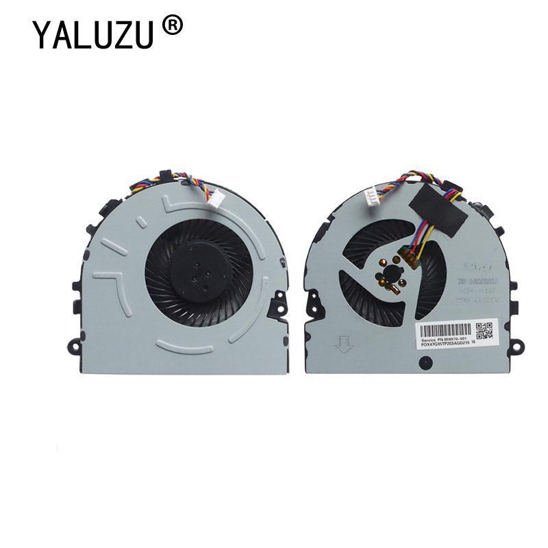 Ventilateur de coussinets de refroidissement pour ordinateur portable pour Pavilion 15-da 15-da0014TX KSB05105HADZ6 DC5V 0,35A DC28000L6D0 L20473-001