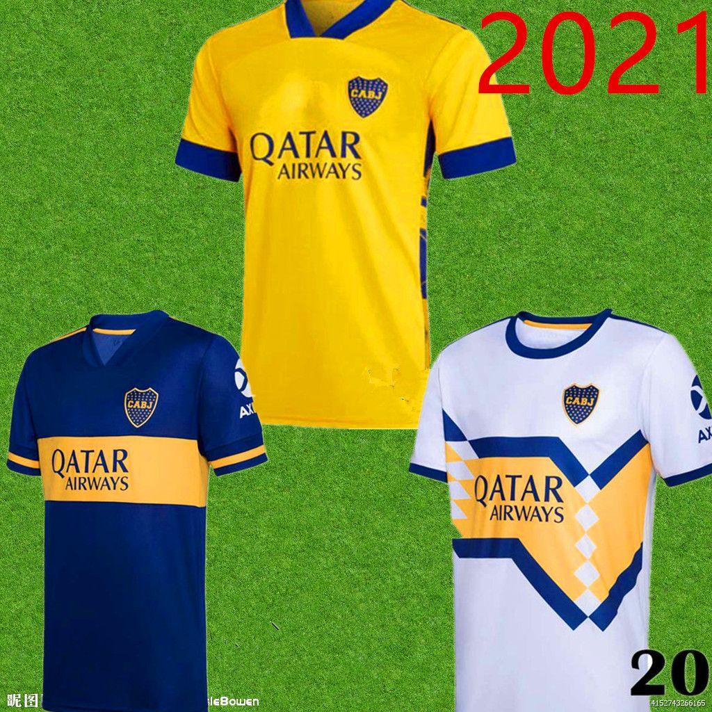 2020 2021 Boca Juniors Version Jersey Home Away 20 21 Boca Juniors Gago Osvaldo Carlitos Perez de Rossi Shirt de football