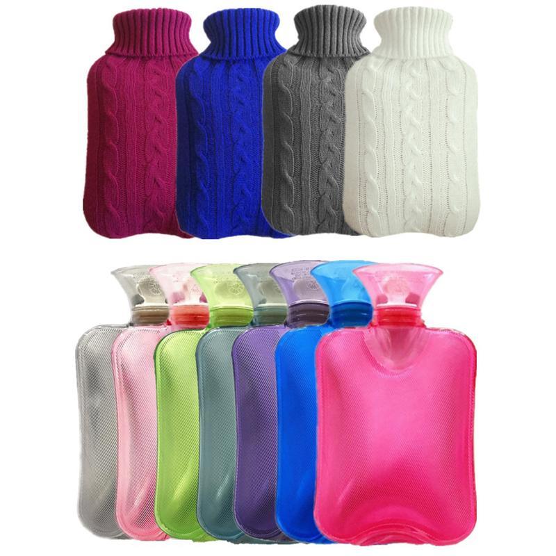 통증 JK2011XB을위한 니트 커버 핸드 비슷해 폭발 방지 휴대용 온수 가방 좋은으로 뜨거운 물 병