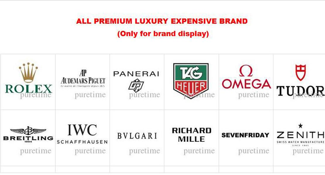 ALL PREMIUM LUXURY EXPENSIVE BRAND (Only for brand display)