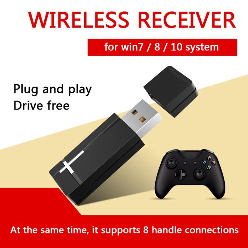 Multi-functional 2.4GHz PC Gamepad Controller Adapter USB Joystick Wireless Receiver for XBOX ONE PC Desktop Computer Tools