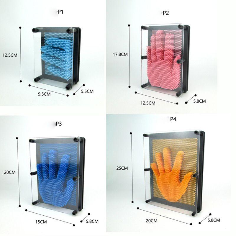 DIY рука плесень клон отпечатков пальцев фигура штифт художественный игрок иглы пластиковые красочные игрушки смешные шутки игрушки 3D анти стресс клон детские игрушки