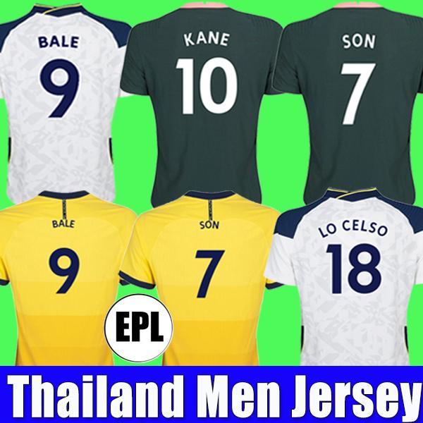 20 21 TOTTENHAM hotspur Soccer Jerseys 2020 2021 KANE SON BALE BERGWIJN LUCAS DELE Camiseta de fútbol BALE NDOMBELE Hombres conjuntos de niños