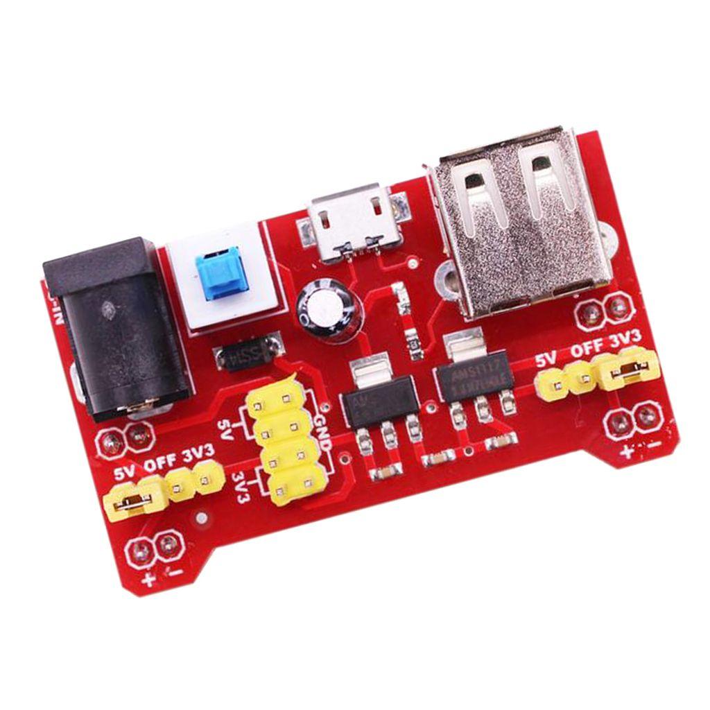 BREADBOARD Module d'alimentation pour le Conseil régulateur de tension USB pain