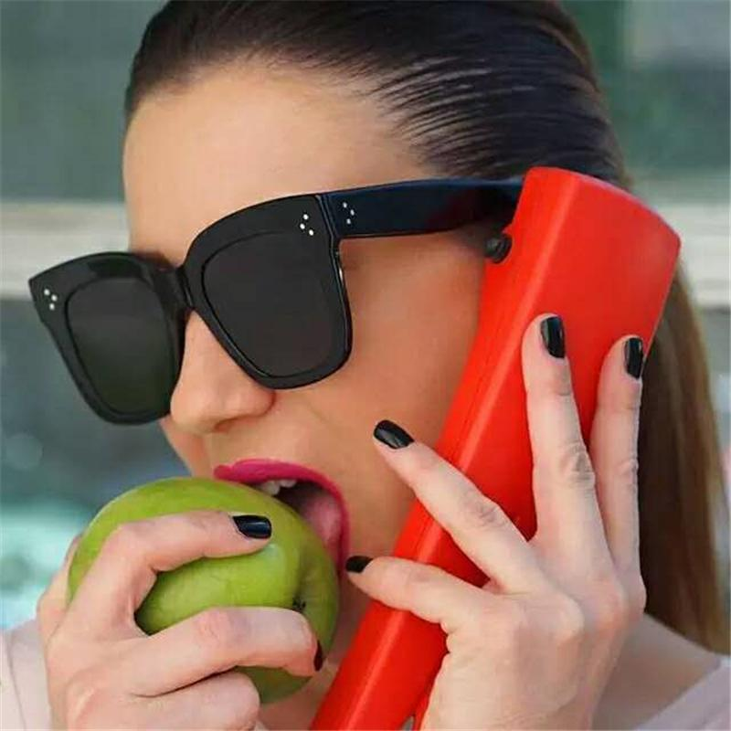 2021 Moda Gato Gafas de sol Gafas de sol Vintage Vintage Gradiente de gran tamaño Gafas de sol Trasas Mujer Diseñador de lujo UV400 Sunglass Q0121
