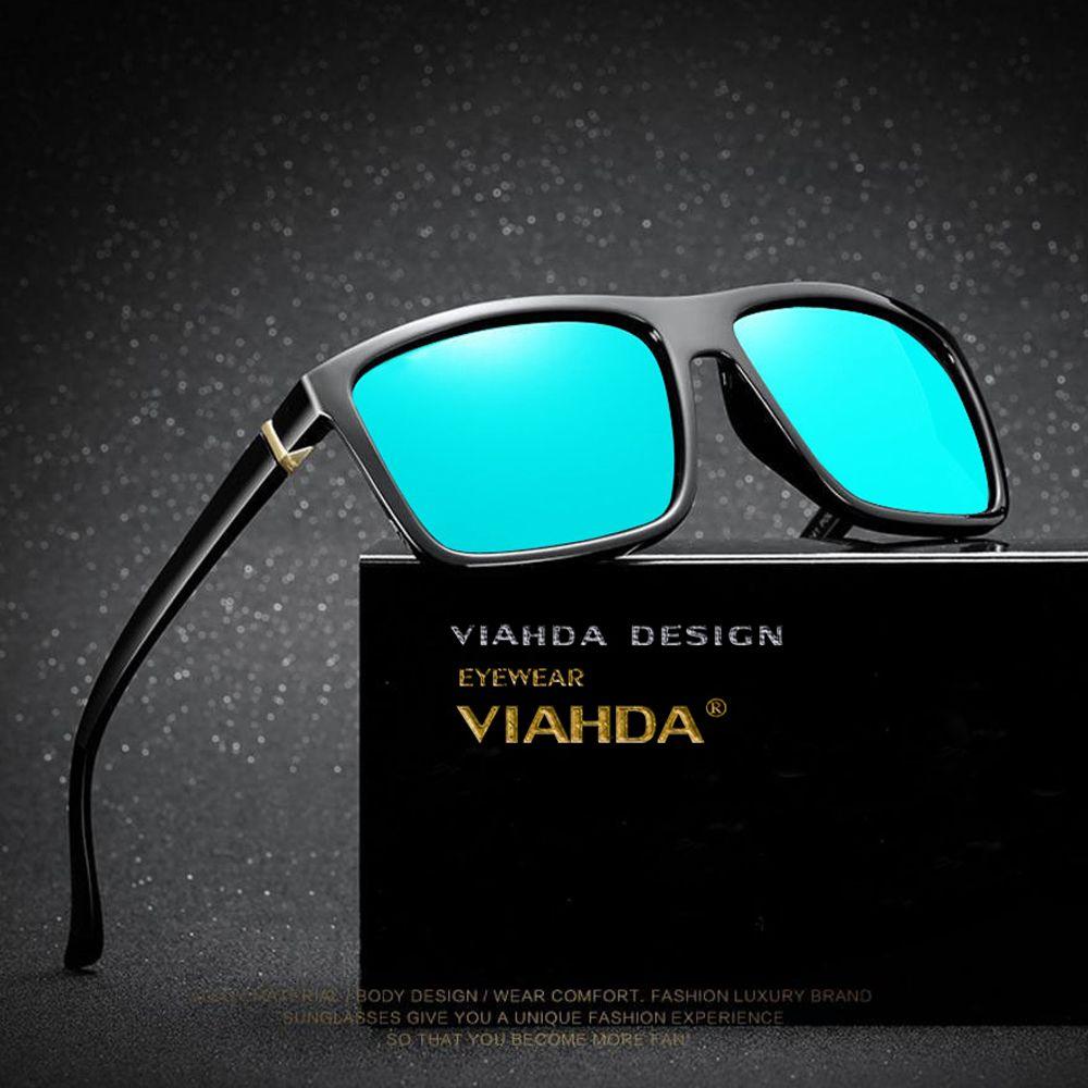Vihda Polarized New TR90 Солнцезащитные очки de Men Fashion 2020 Sol Sun Glasses Travel Gafas Box Только Очки 19 г Мужской с OUXVG
