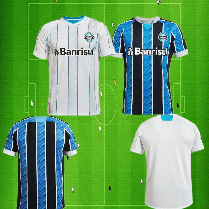 20 21 Männer Gremio Geromel Männer Fußballjerseys New KANNEMANN LUAN AZEVEDO EVRTON Home Away Football Shirts 2019 Verein T-Shirt de futebol Uni