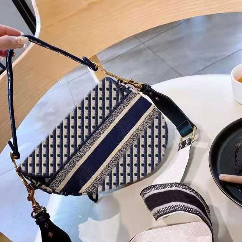 أكياس السرج houndstooth رسول جودة عالية المرأة حقيبة الكتف بوتيك محفظة الأزياء الكلاسيكية
