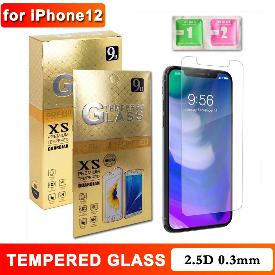 Tempered Glass for iPhone 11 pro max XS max SE Screen Protector Retail Package for Samsung A50 M41 J7 J8 Factory Price