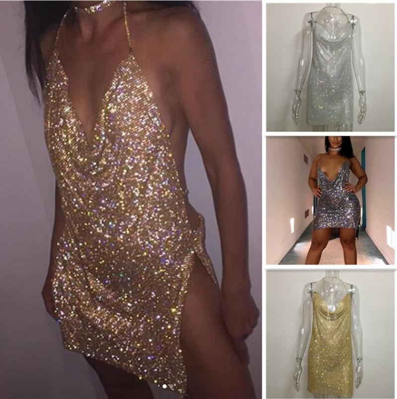 Explosion sexy strass sking jupe nuit club de nuit robes d'aluminium maillage strass robe femmes robes sac jupes de hanche jupe crayon chaud