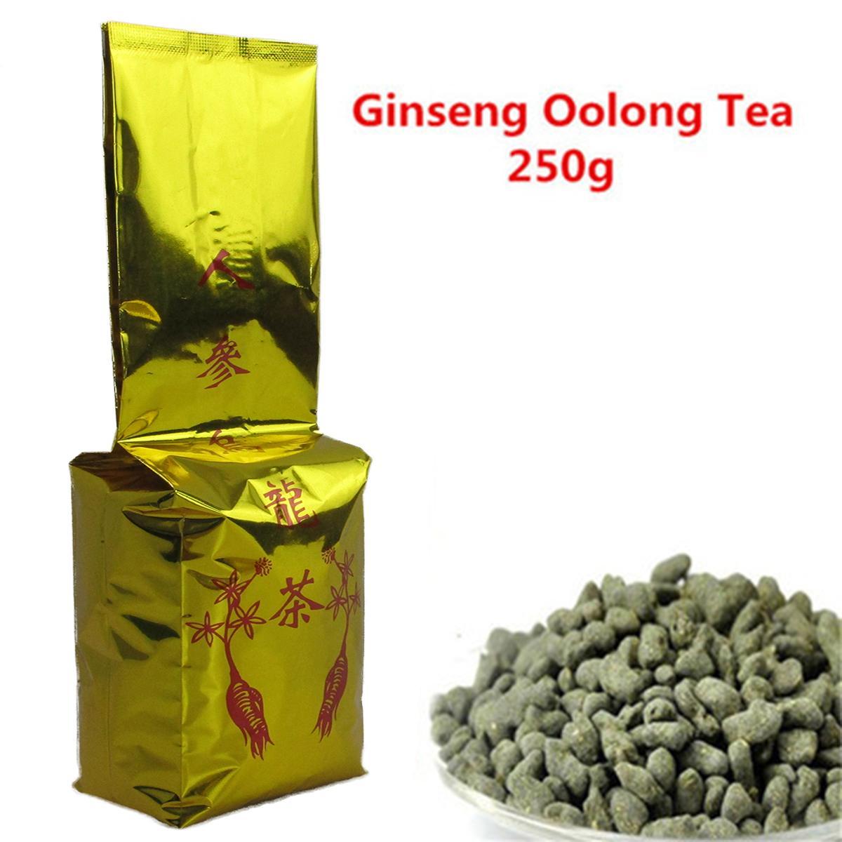 Tercih 250g Çin Organik Ginseng Oolong Çay Taze Doğal Yüksek Kaliteli Yeşil Çay Yeni Bahar Çay Sağlıklı Yeşil Yemek