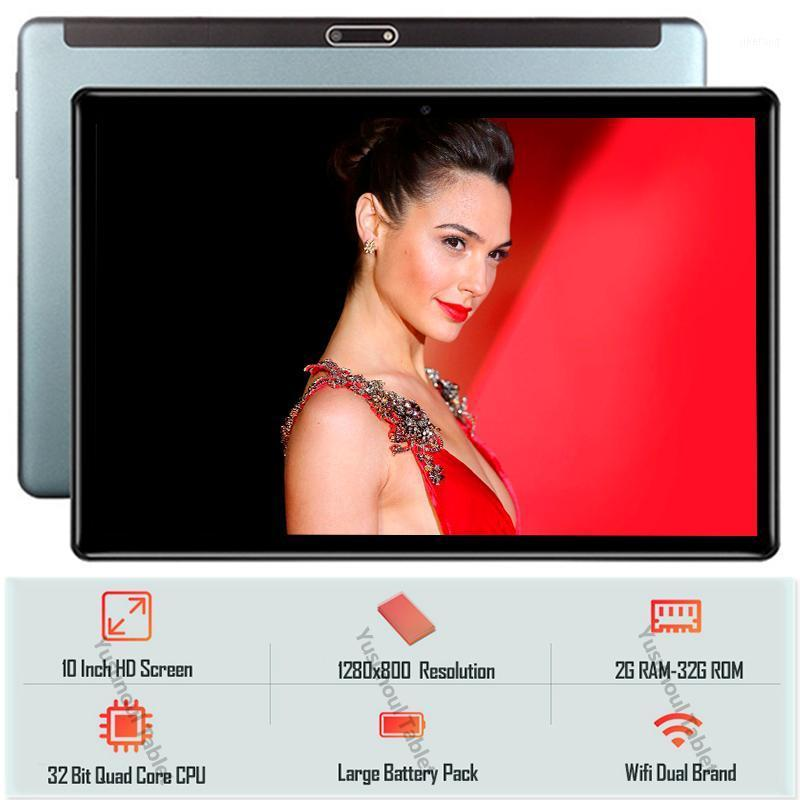 New sales Hot 32GB ROM 1280*800 IPS Android 9.0 Tablet pc Dual cameras Tempered Glass 2.5D screen 10 inch Tablet PC 3G LTE+Gifts1