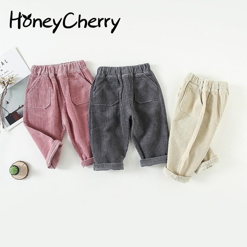 Girls Color Baby boy Casual Girl Children Solid Harem Pants LJ201127