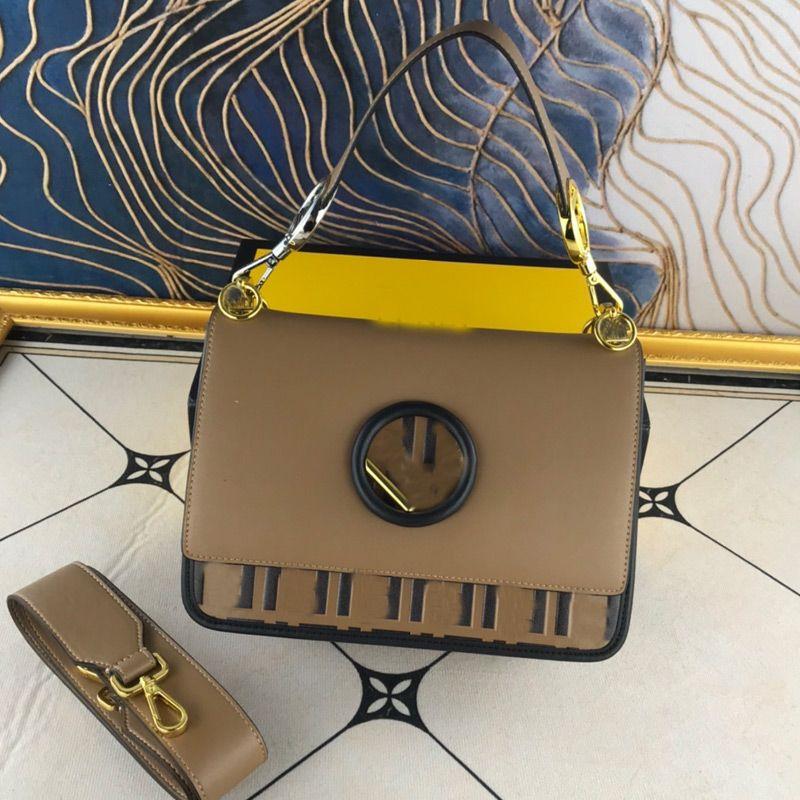 Classic Baguette Bag Genuine Leather Handbag Purse Women Flap Messenger Bags Fashion Letter Tote Bag Two Strap Shoulder Bags Square Buckle
