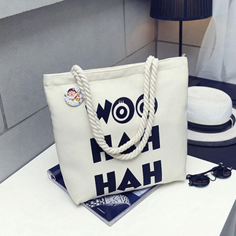 2020 новая мода холст конопляный веревка пляжный мешок дамы крестные сумки на плечо холст печать на заказ