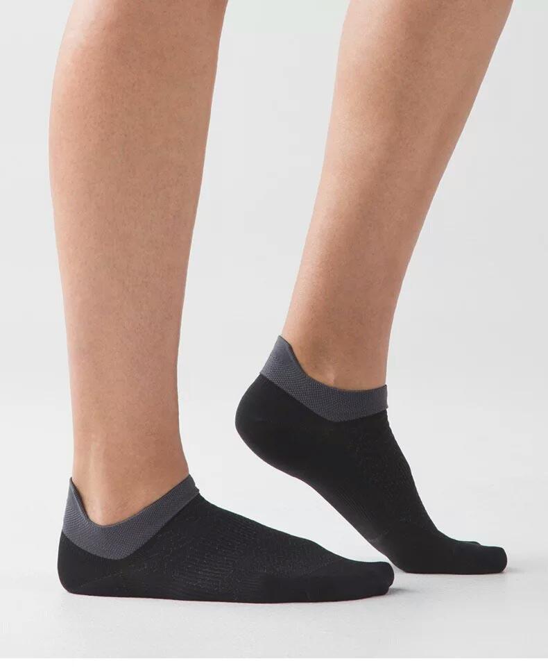 Moda Homens Mulheres General Lado Fino tornozelo Meias Desodorante e Suor Absorvendo Respirável Algodão Raso baixo
