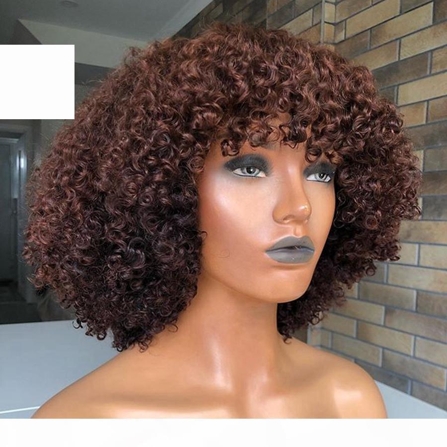 180 плотётворных вьющиеся вьющиеся человеческие волосы кружевные фронтские парики с челками полные волосы странные фиги по полным кружевам волосы для чернокожих волос