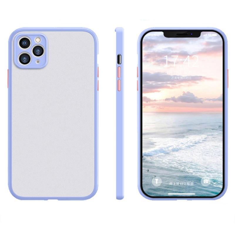 Protection de l'objectif Silicone Protection antichoc transparente Cas de téléphone maternelle pour iPhone 12 11 Pro Max XR XS 8 Plus