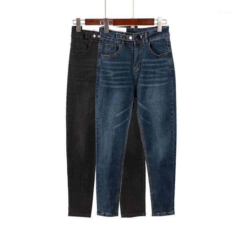 Плюс размер парень джинсы для женщин одежда гарема брюки винтаж высокой талии джинсы женские джинсовые брюки мамочка ропа mujer q26131