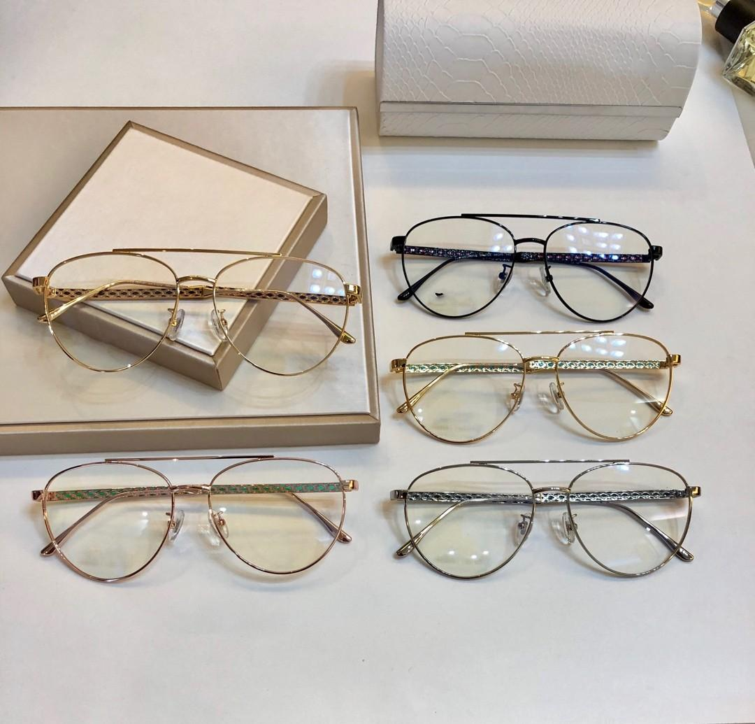 2021 جديد النظارات الإطار النساء الرجال النظارات إطارات مزاجه النظارات إطار واضح عدسة نظارات الإطار oculos 216 مع القضية