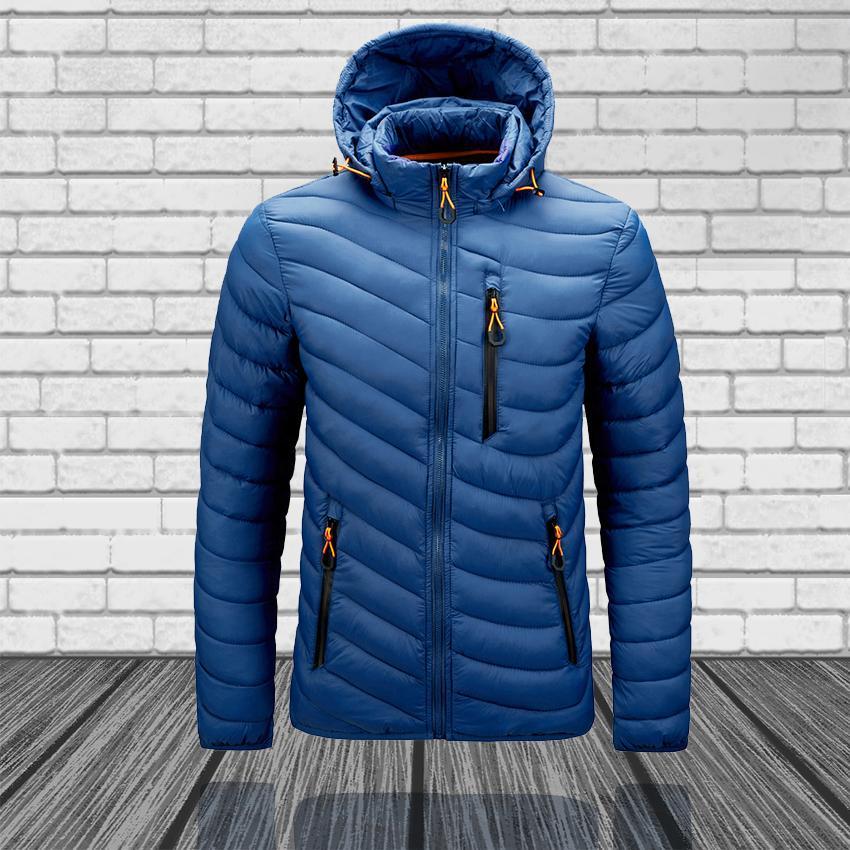 Marque Designer Men's Veste Ultra Light Down Hommes Windbreaker Featherert Homme léger Portable
