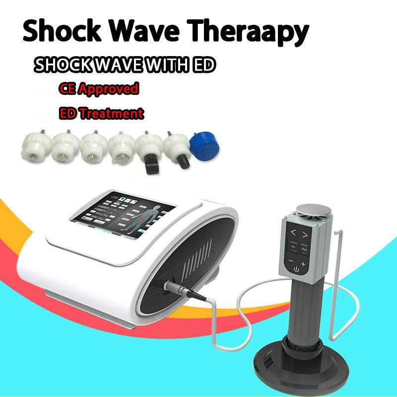 Портативная низкая интенсивность ударной волновой терапии для Ed Erectile Dysfunction Therapy Chastwave Machine Machine может регулировать интенсивность и частоту