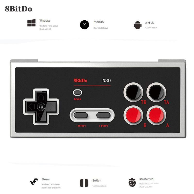 8BitDo N30 do Windows Mudar Controlador Gamepad joystick Bluetooth para o interruptor NES Android MacOS