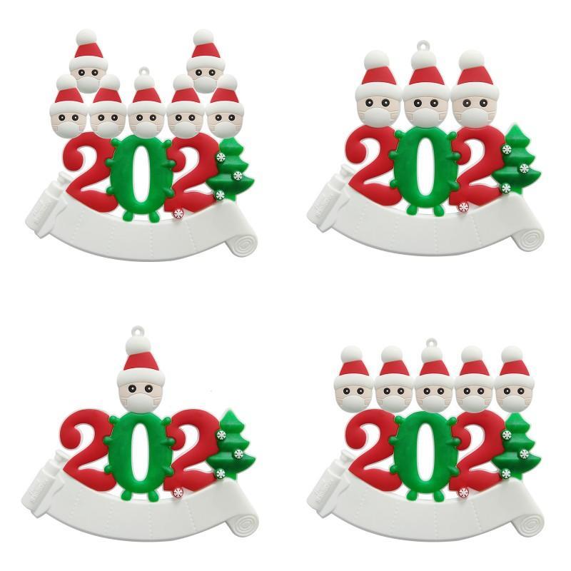2020 Yılbaşı Ağacı Ev Süsleme Ağız El Temizleyici Doku Modeli Christmases Serisi Süsleri DIY Sıcak Satış 10lh J2 Maske