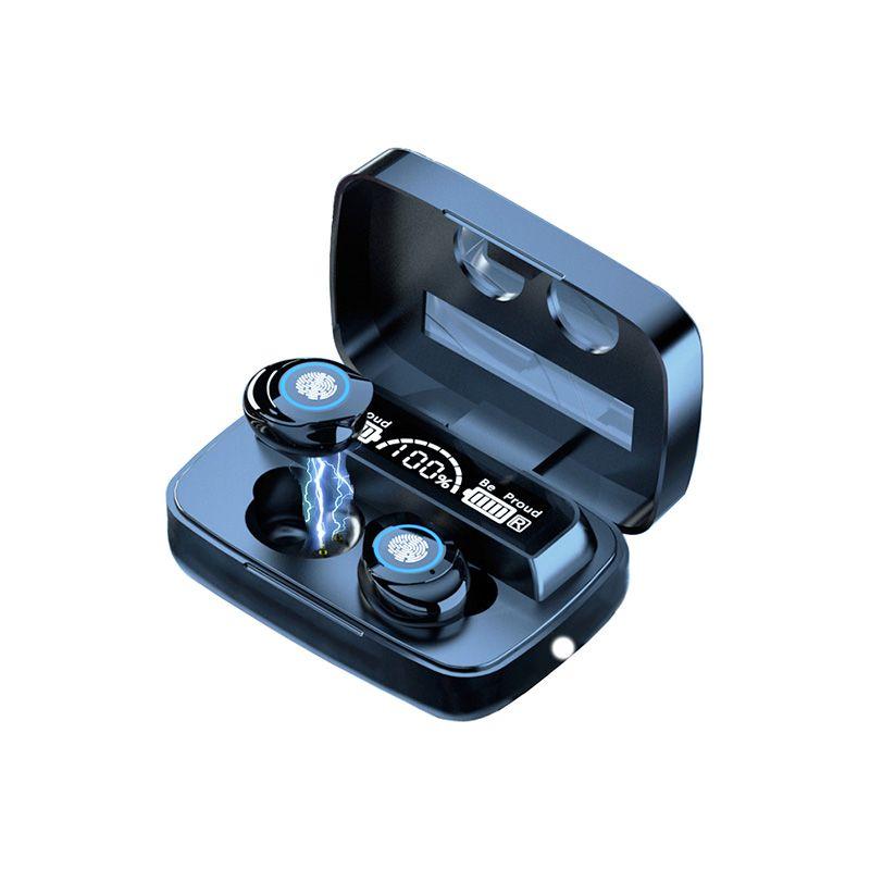 Drahtlose Bluetooth-Ohrhörer 5.1 Tws M9-17 Berührungssteuerung Wasserdichte Kopfhörer Noise Rauschen Abbrechen Wireless Ohrhörer LED Anzeige Sport Headset