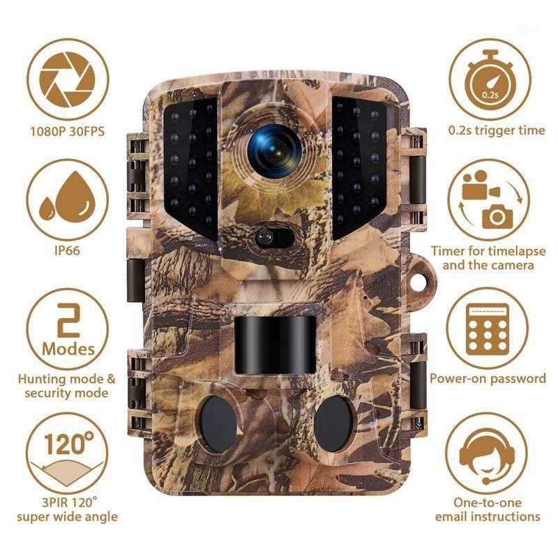 20mp Heading Camera 1080P HD Trail Camera IP66 PIR Motion Night Vision Camcorder1