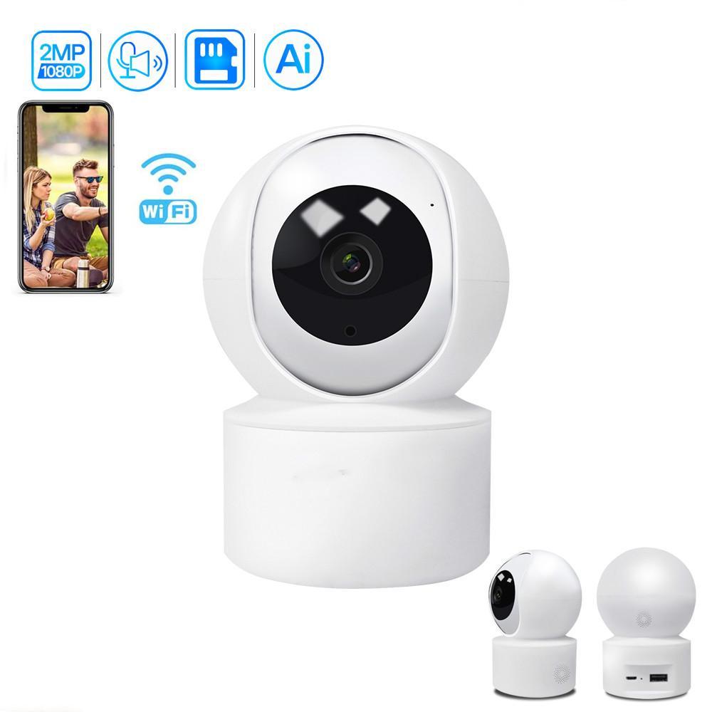 2020 أحدث كاميرا 1080P السيارات تتبع الأمن اللاسلكية الرئيسية مراقبة PTZ IP كاميرا للطفل / الحيوانات الأليفة / مربية مراقب